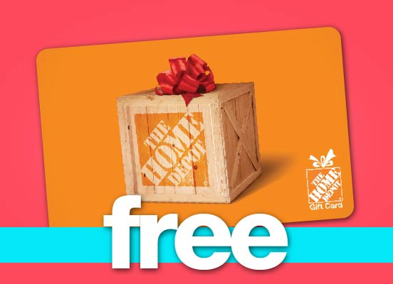 Free Gift Cards to The Home Depot