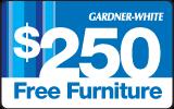 $250 in additional furniture