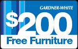$200 in additional furniture